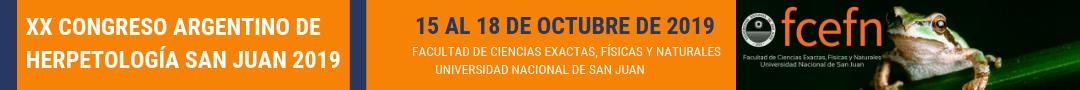 Congreso de Herpetología San Juan 2019